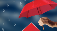 umbrella-house-rain
