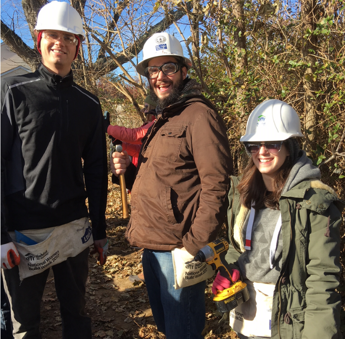 James Small, Commercial Account Executive Dan Lukasiewic, Director of Digital Media Emily Zurl, Director of Creative Media Giving back to our community!