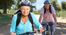 senior-couple-biking