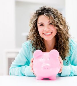 woman-piggy-bank